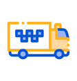 Logo truck online taxi icon