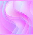 purple wavy background vector image vector image