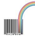 UPC Rainbow vector image vector image