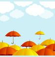 autumn season concept card poster background vector image vector image