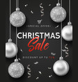 banner or poster for christmas sale vector image