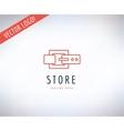 belt logo icon style fashion or shop
