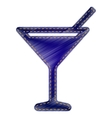 Cocktail sign vector image vector image