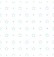 geometric blue seamless pattern Stars vector image vector image