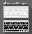 keyboard concepts vector image