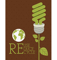 Recycle design vector image vector image