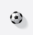 Soccer ball isolated vector image vector image