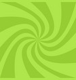abstract swirl background from twisted spiral rays vector image vector image