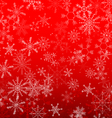background Christmas snowflake design vector image