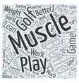 Best Exercise Tips for Golfers Word Cloud Concept vector image vector image