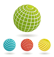 Color planet icons vector | Price: 1 Credit (USD $1)