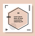 congrats speech bubble banner geometric memphis vector image vector image