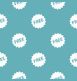 Free sign pattern seamless blue