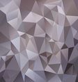 gray metal polygonal triangular pattern background vector image vector image