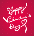 happy valentines day hand draw vector image vector image