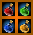 potions1 vector image vector image