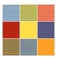 seamless striped tube pattern collection in differ vector image vector image