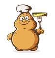 potato cook vector image