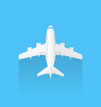 Airplane trendy icon vector image