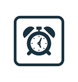 alarm clock icon rounded squares button