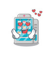 in love medicines vending machine isolated the vector image vector image