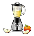 kitchen blender vector image vector image