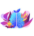 mindfulness concept vector image