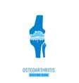 osteoarthritis icon image vector image vector image