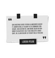 Paper sheet with profound gray paper quote