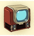 Retro TV home appliances vector image vector image