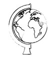 world planet supply school vector image