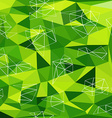 Abstract Triangle Geometrical Multicolored vector image vector image