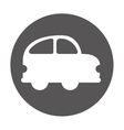 car vehicle beetle isolated icon vector image vector image