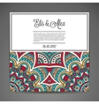 Card or invitation vector image vector image