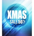 Christmas sale party poster or flyer