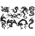 Dragons vector | Price: 1 Credit (USD $1)