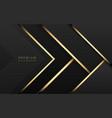 luxury tech background stack black vector image vector image