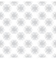 seamless spiral pattern light gray color vector image vector image