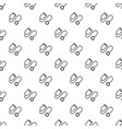 stethoscope pattern seamless vector image vector image