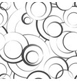 abstract geometric seamless pattern bubble vector image vector image
