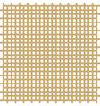 Golden bars pattern vector image vector image