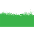 grassy landscape 2003 vector image vector image