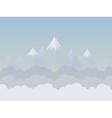 Mountain6 vector image vector image