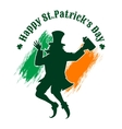 Saint Patricks Day Emblem vector image