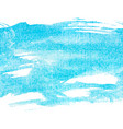 banner blue watercolor vector image vector image
