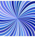 blue abstract hypnotic swirl stripe background vector image vector image