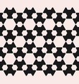 monochrome seamless pattern with hexagon figures vector image vector image