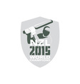 New Zealand Cricket 2015 World Champions Shield vector image vector image