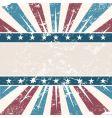 Old USA colors frame grunge