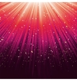 Star light sparkles background vector image vector image